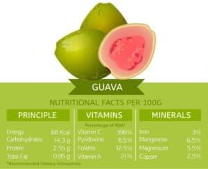 propiedades de la guayaba