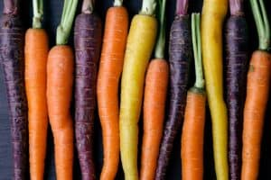 tipos de zanahorias
