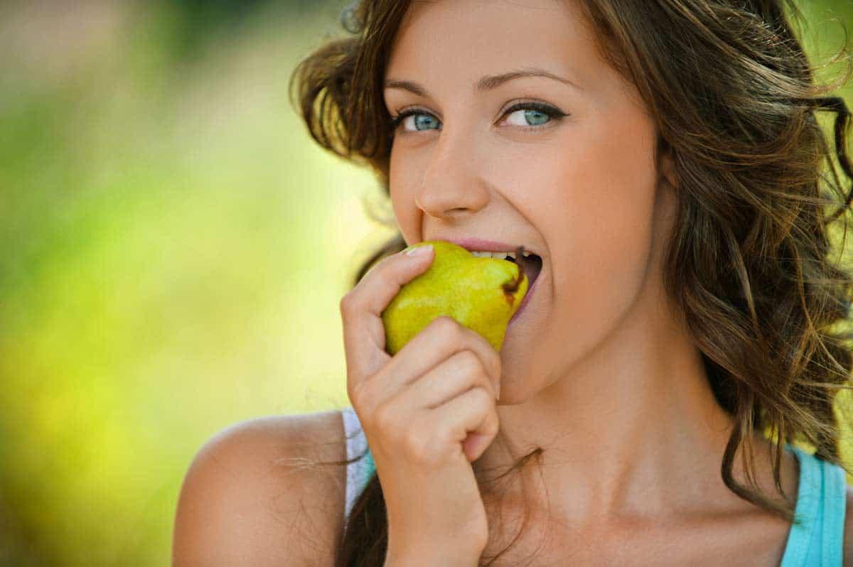 como comer peras